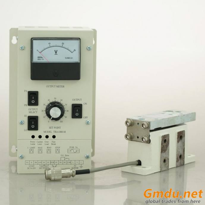Magnetic powder brake tension control
