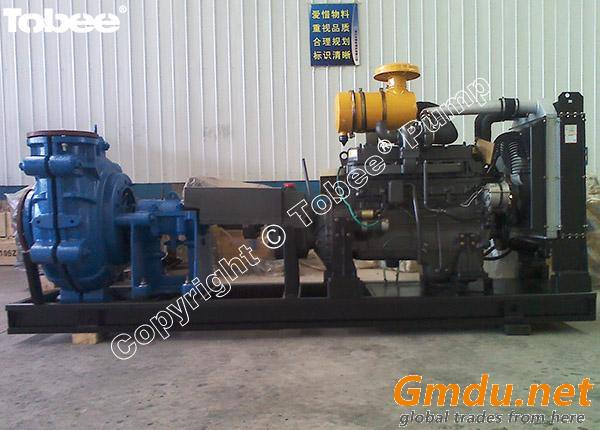 8/6E-AHR Slurry pumps