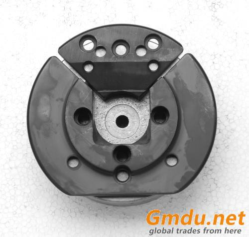 VT6 V type exchangeable insert flange foot mounted safety chuck