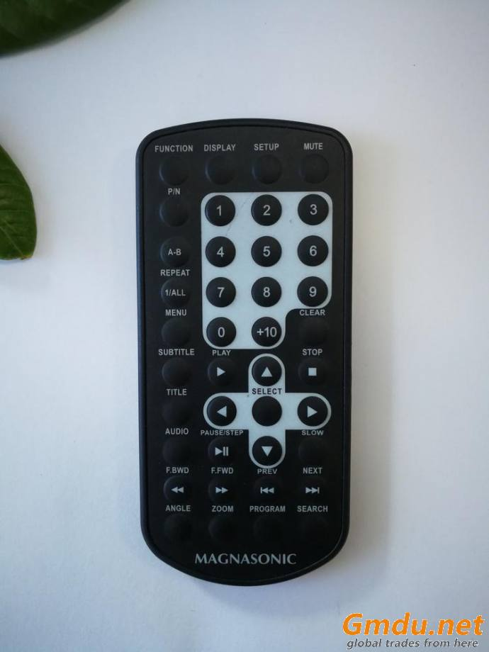 Remote control with 40 buttons