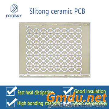 High thermal conductivity low expansion Ceramic PCB.