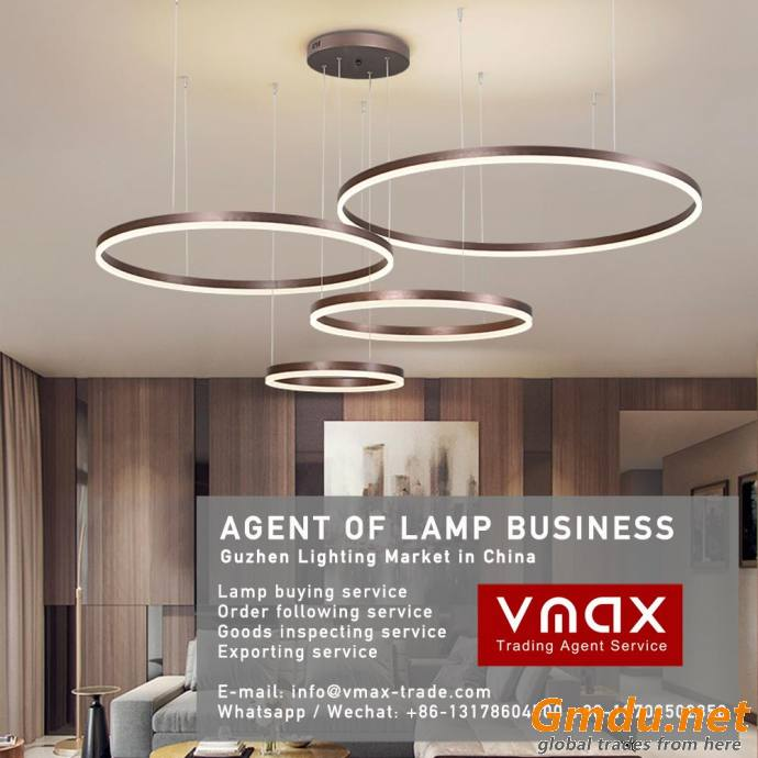 2021 Guzhen lighting market LED lamp buying and inspection agent