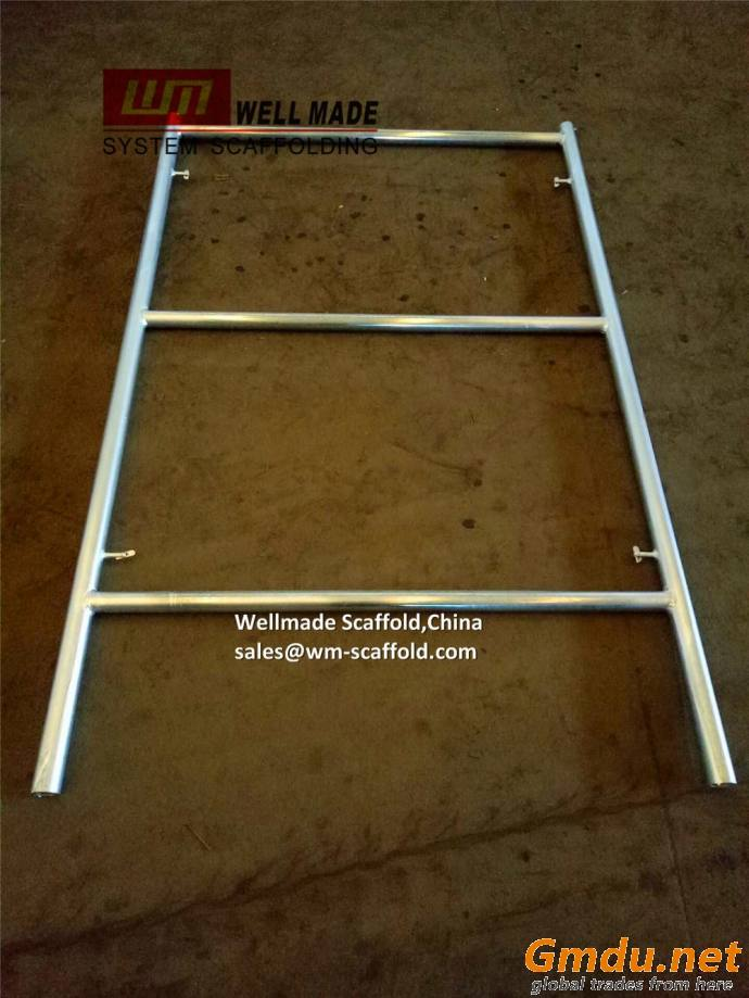 Heavy-duty Hi Load Scaffold Frame Temporary Falsework Frame Formwork Ladder H Frame