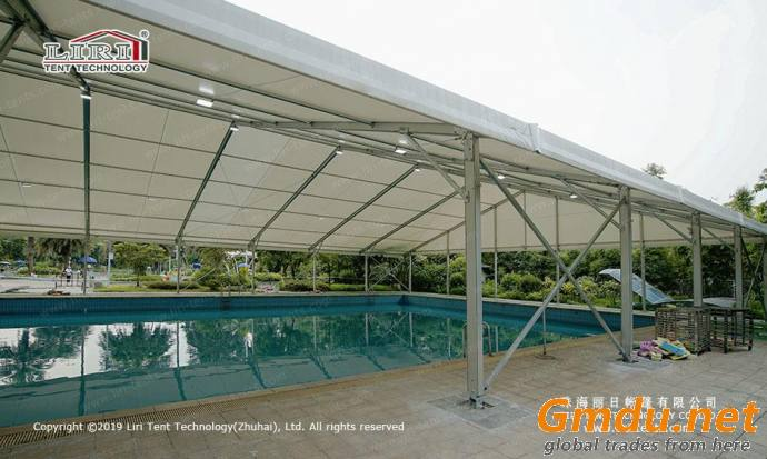 Swimming tent