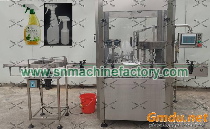 Full automatic disinfectant filling equipment