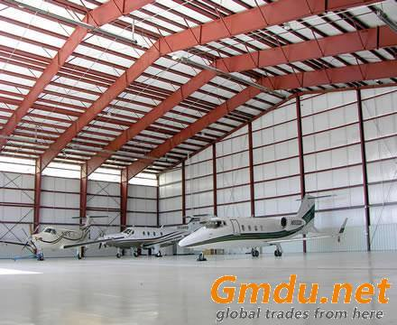 large Spans Metal Hangar Buildings