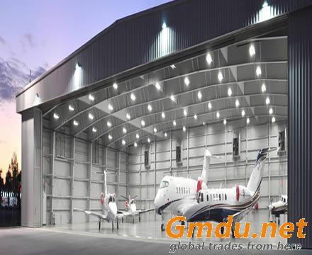 Prefabricated Steel Structure Hangar