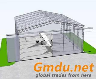 steel portal frame hangar