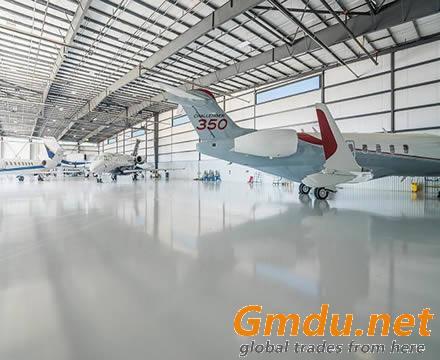 small aircraft hangar designs