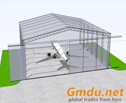 hangar for aircraft
