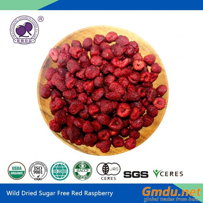 sugar dried raspberry