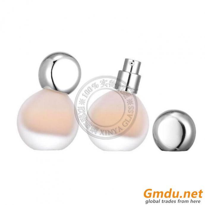 30ml liquid foundation glass bottle cosmetic packaging essense serum split bottles