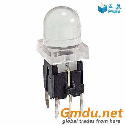 Thru-hole Tactile Switch With LED