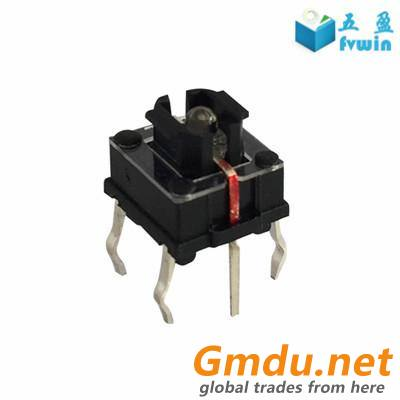 7mm Tact Switch With Built-in LED Illuminated Button