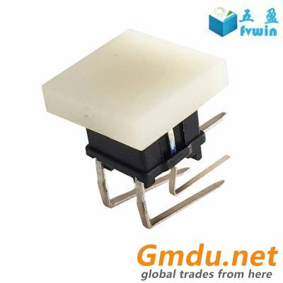 PCB Mount LED Right Angle Electric Push Button Switch