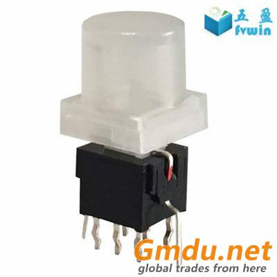Micro Self Lock Illuminated LED Push Button Switch