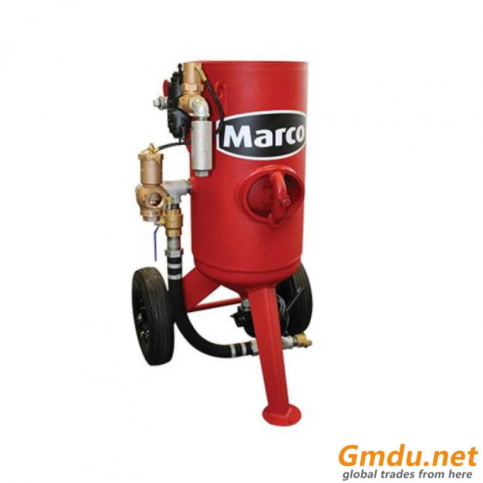 Marco Abrasive Blasting Package -300-Lb. Capacity, 3.0 Cubic Ft