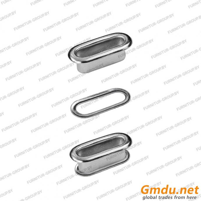 Oval eyelets with washers OVL