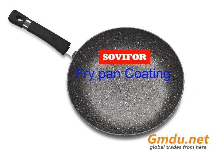 water base PTFE coating applied to cookware