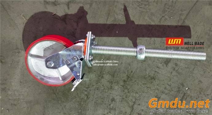 Adjustable Caster Wheel Mobile Scaffolding Wheels