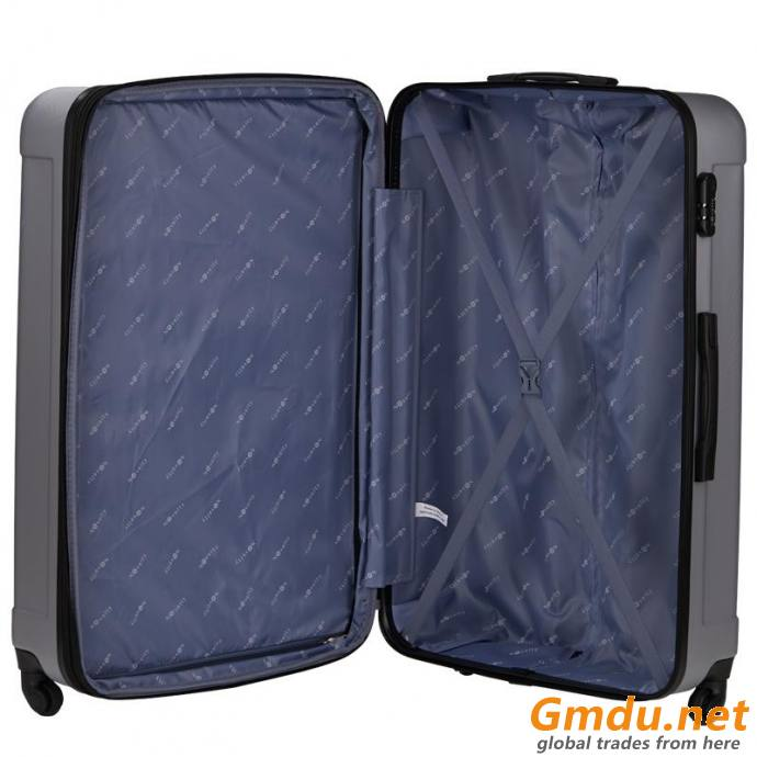 ABS trolley case hard shell luggage 3pcs per set