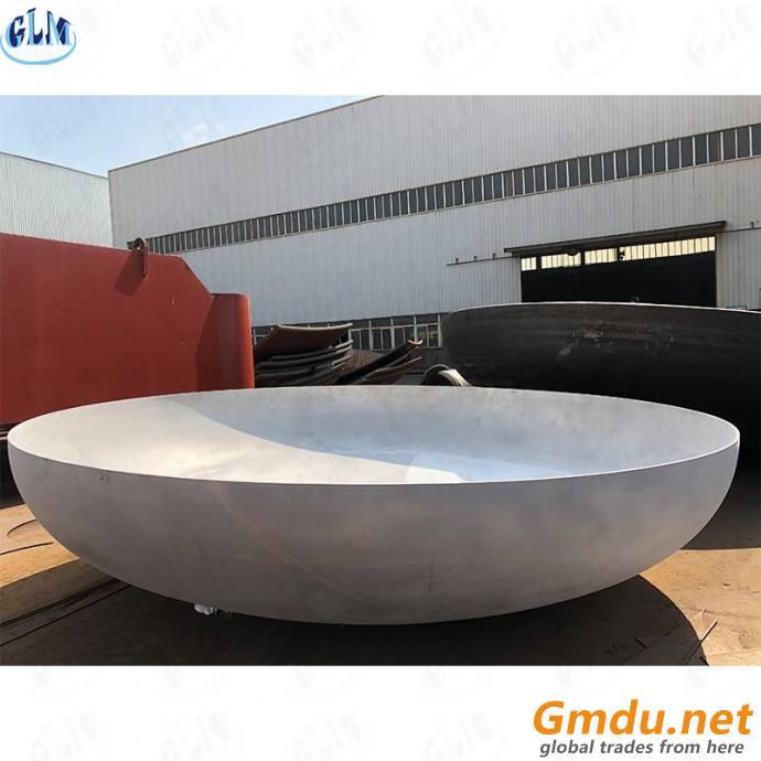 ASME Cold Pressing Elliptical Dished Ellipsoidal Tank Heads