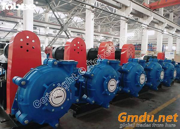 8/6E- Rubber lined Slurry pumps
