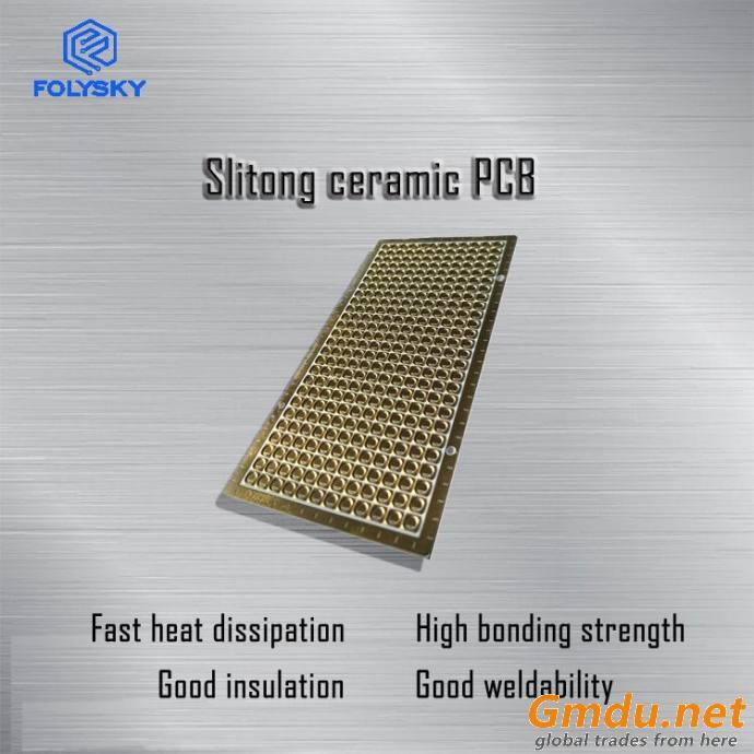 The Ceramic PCB Processing of 96 Aluminum Oxide &Aluminum Nitride Ceramic Substrate Pyroceram Plate