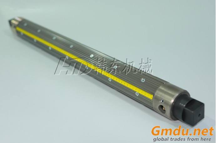 Aluminum alloy strip type pneumatic driven air shaft
