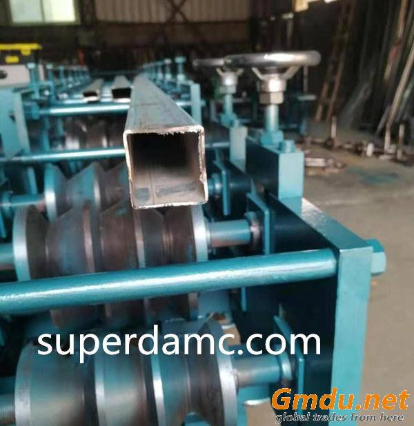Mild Steel Square Tube Fabrication Line