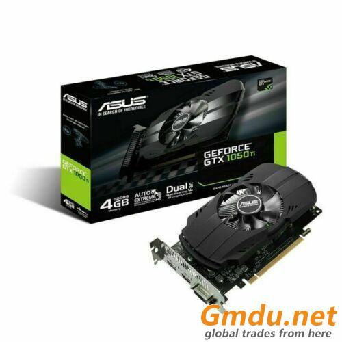ASUS GeForce GTX 1050 Ti 4GB GDDR5 Graphics Card