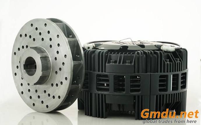 Equal Niika DBR256 pneumatic caliper disc brake with 24V cooling fan