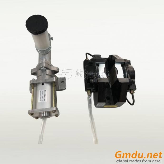 DBM hydraulic disc brake with BST air oil booster