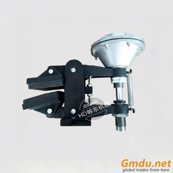 QDF-2 pneumatic friction disc brake for trimming machinery
