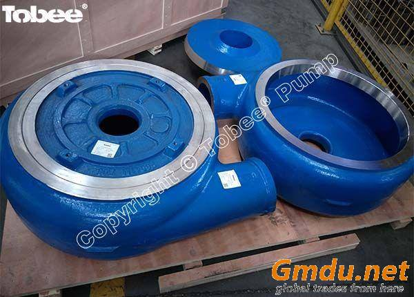 Metal wear parts for slurry pump