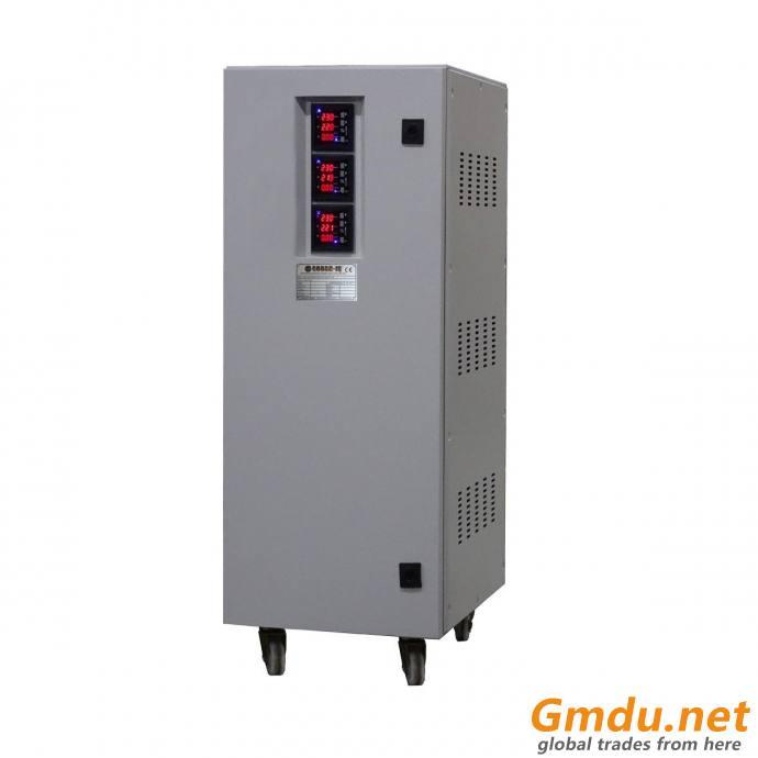 Automatic Voltage Stabilizer 3 Phase 30kVA Servo Control