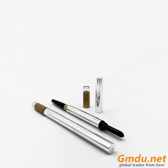 eyebrow pencil tube double function eyebrow pencil tube