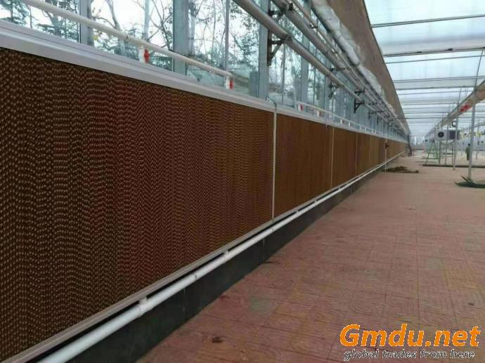 Poultry farm ventilation and cooling system