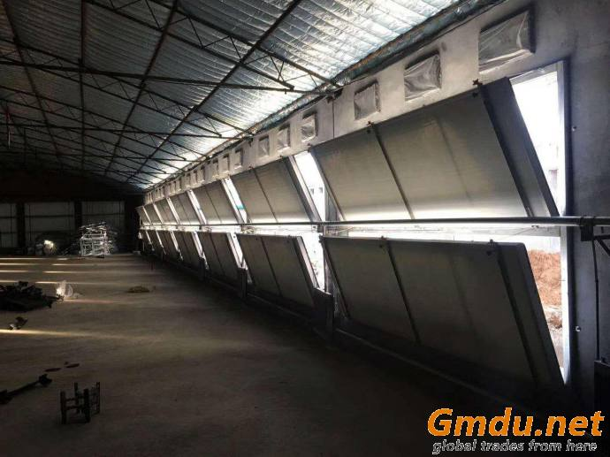 Poultry farm equipment ventilation and cooling system