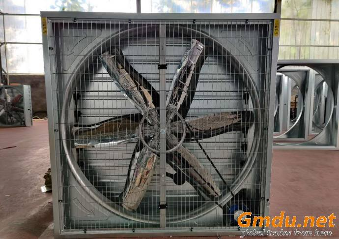 Industrial ventilation and cooling system for workshops, factories and commercial buildings