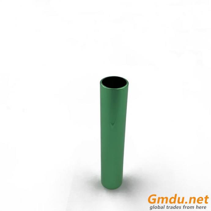 various colours empty aluminum cosmetic lipstick tube parts
