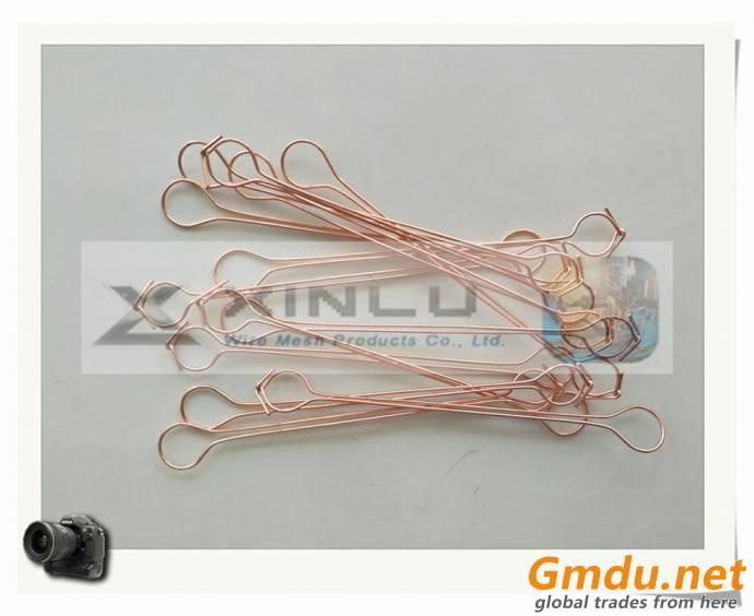 double loop wire ties, copper coated wire ties, pvc coated bar tie wires