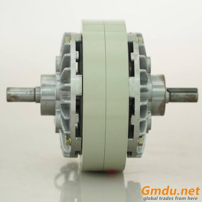 Magnetic powder brake unwinding machine