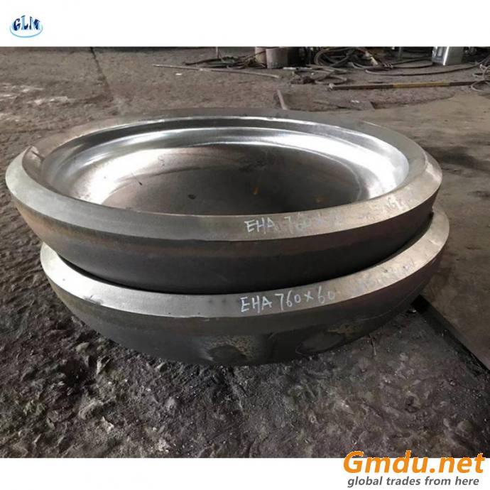 carbon steel boiler dish end