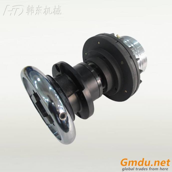 Flange safety chuck and NAB air shaft brake printing machine