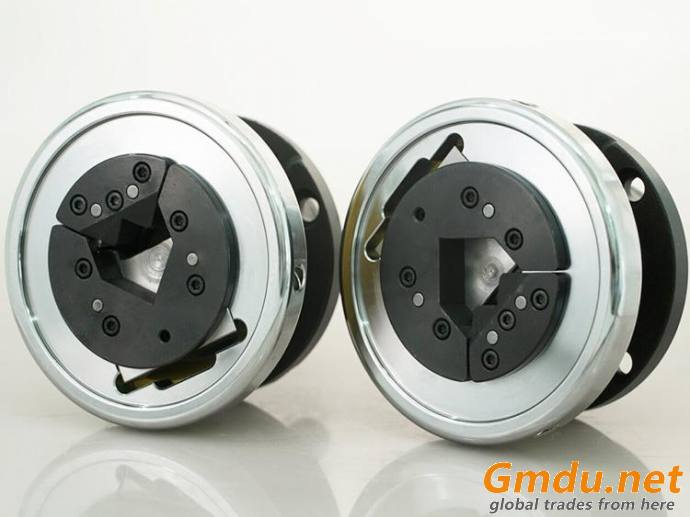 VT6 V type insert flange and foot mounted safety chuck