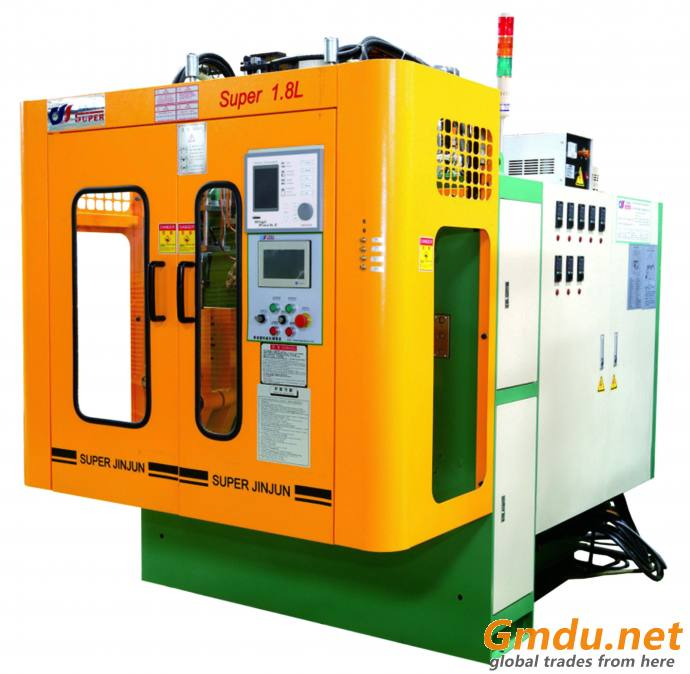 Double color extrusion blow molding machine