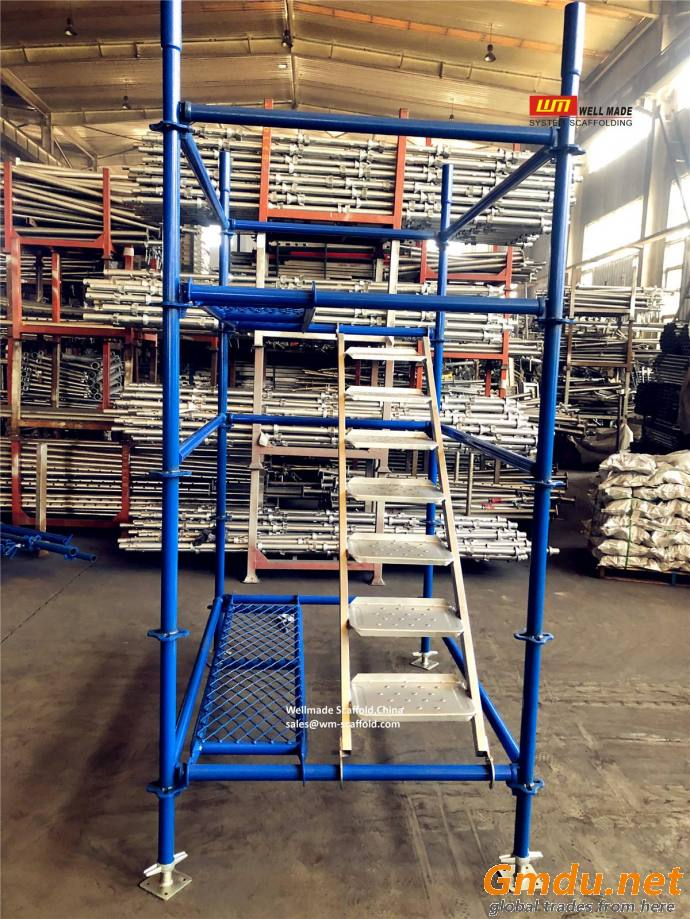 Quick Lock Scaffolding System Building Construction Scaffolds
