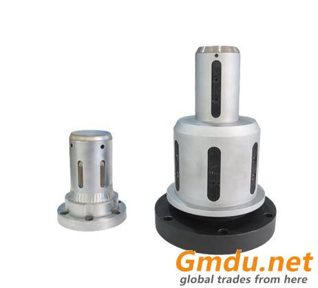 Spring rotary stepped mechanical chuck
