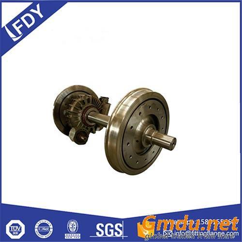 AAR TB/T EN IRIS ISO Certification Railway Wheel and Axle Assembly Set
